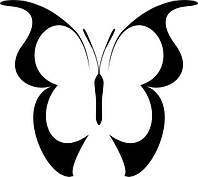 Виниловая наклейка-Бабочка(5) (от 10х10 см)