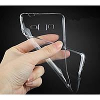 Силиконовый чехол 0,33 мм для Samsung J730 Galaxy J7 (2017) прозрачный