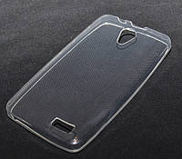 Силиконовый чехол 0,33 мм для Lenovo A319 прозрачный