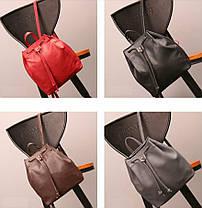 Стильный не большой рюкзак на затяжке, фото 3