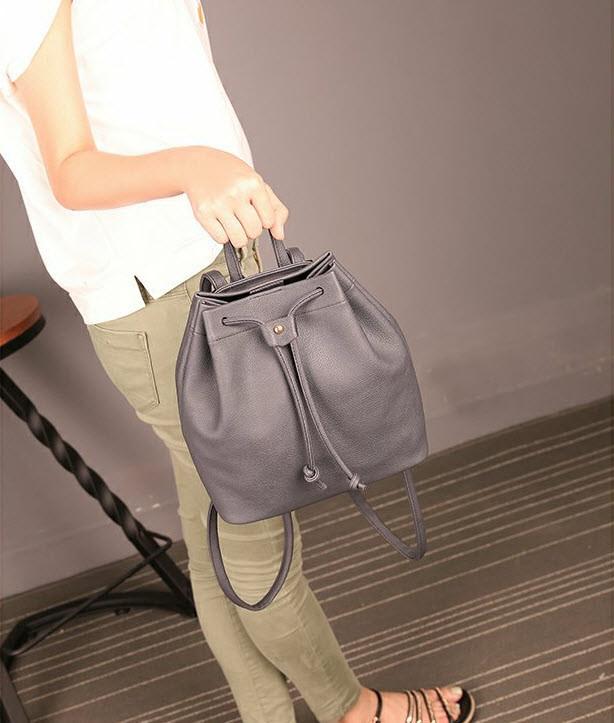 Стильный не большой рюкзак на затяжке