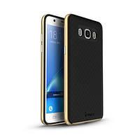 Чехол - бампер iPaky (Original) для Samsung G610F Galaxy J7 Prime (2016) - золотой