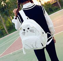 Молодежный рюкзак с уникальным принтом кота, фото 3