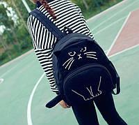 Эксклюзив, Молодежный рюкзак с уникльным принтом кота