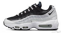 Кроссовки Nike Air Max 95 QS Metallic Platinum & Noir, найк аир макс 95
