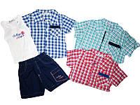 Костюм летний-тройка для мальчика, Sincere, размеры 12/18, 18/24, 24/30,месяцев, арт. M-2001