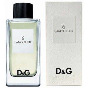 Dolce & Gabbana Anthology 6 L'Amoureaux туалетная вода 100 ml. (Дольче Габбана Антхолоджи 6 Л Амоурекс)
