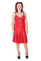 Платье-сарафан, 42-44, красный