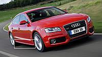 Накладки на пороги тюнинг обвес Audi A5 Sportback стиль S-line
