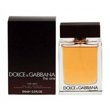 Dolce & Gabbana The One For Men туалетная вода 100 ml. (Дольче Габбана Зе Уан фо Мен), фото 2