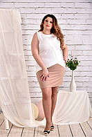 Женское платье на лето 0472 размер 42-74 / большого размера