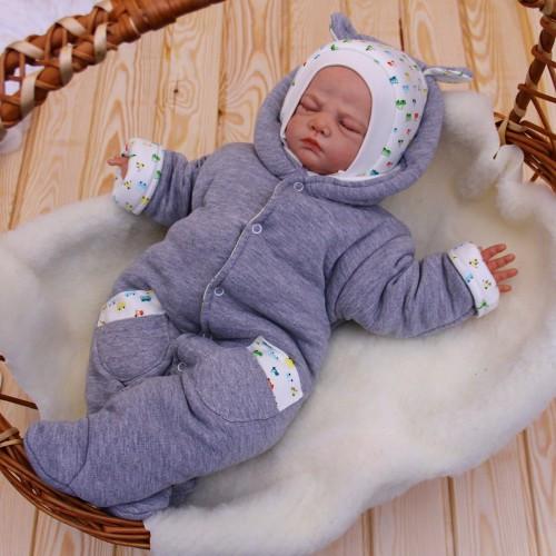 Утепленные Комбинезоны для новорожденных