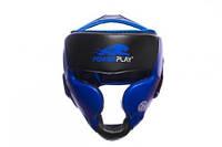 Боксерский шлем PowerPlay Platinum series Blue