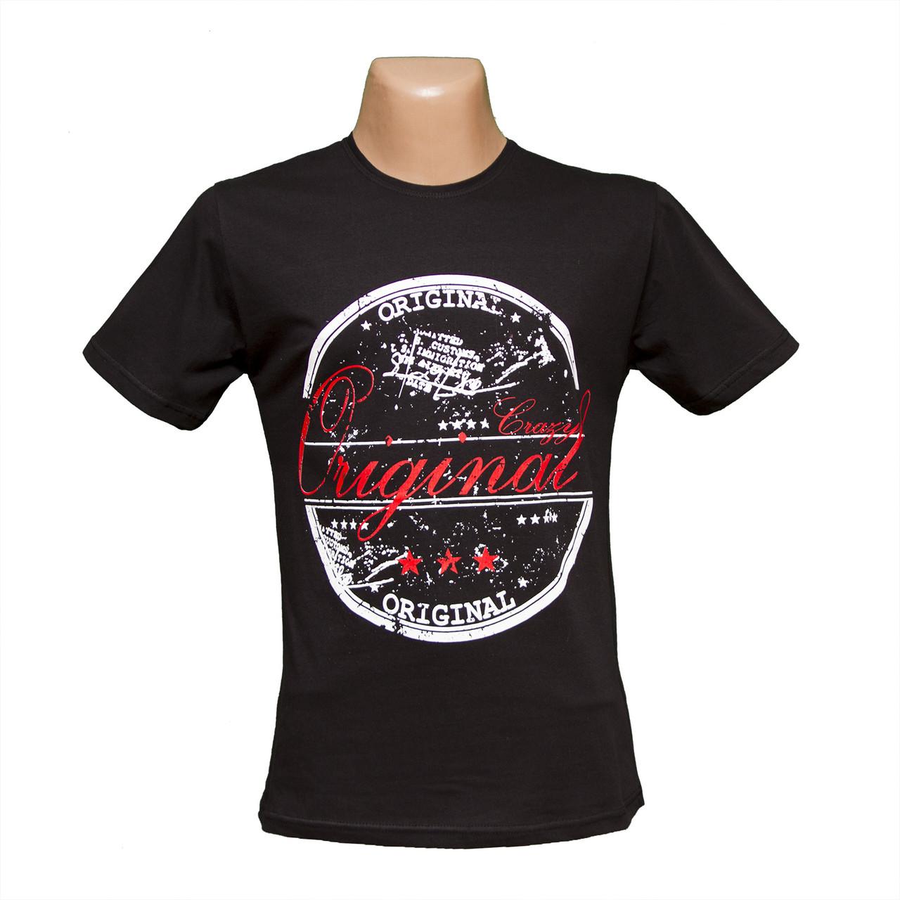 Мужская футболка большие размеры 100% хлопок Турция H4816-1