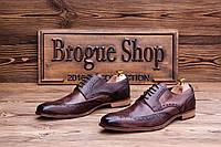 Мужские туфли броги MV, 29.5 см, 44 размер. Код: 425.