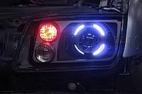 """Volkswagen Bora - установка біксенонових лінз Monlight EVO G5 2,5"""" в фари, фото 1"""