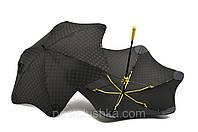 Зонт MINI+ BLUNT цветные спицы Черный/желтый