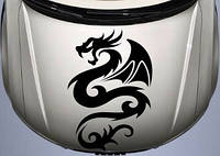 Виниловая наклейка- Дракон (от 15х10 см)