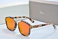 Солнцезащитные очки Dior Abstract оранжевые