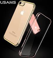 TPU чехол Usams dazzle для Apple iPhone 7 (4 цвета)