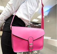 Женская сумка клатч через плечо почтальон Конверт