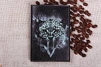 Обложка на паспорт Тигр кожа
