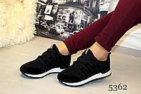Спортивные женские кроссовки,цвет черный
