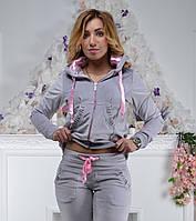 Женский спортивный костюм из плюша (Турция); разм 42,44, 46,48, фото 1