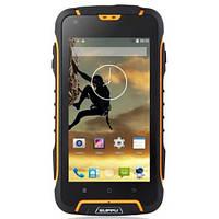 "Защищенный смартфон Suppu F6 black-yellow черно-желтый IP68 (2SIM) 4,5"" 1/8 GB 2/8 Мп 3G оригинал Гарантия!"