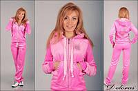 Женский спортивный костюм из плюша (Турция); разм 42, 44, 46,48, 2 цвета, фото 1
