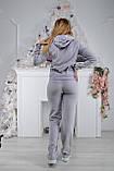 Женский спортивный костюм из плюша (Турция); разм 42, 44, 46,48, 2 цвета, фото 4