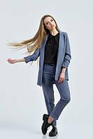 Стильный женский костюм Жасмин джинс   Leo Pride  42-48 размеры