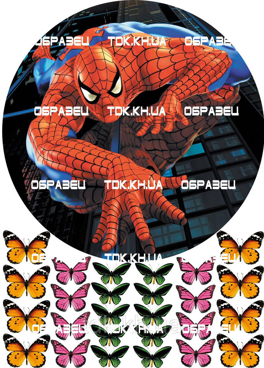 Человек паук 009