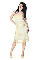 Вечернее платье, 44-46, молоко