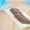 """Набор элитных шоколадных конфет """"Апельсин в черном шоколаде"""". Размер: 92х214х38мм, вес 155г"""