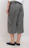 Бриджи модные, капри женские льняные. Широкие штанишки для хулиганки, фото 1