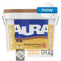 TM Aura Biogrund Aqua - грунтовка для древесины с антисептиками (ТМ Аура Биогрунт Аква), 10 л.