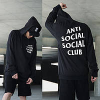 Толстовка с принтом Anti Social Social Club  A.S.S.C. Худи