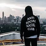 Толстовка с принтом Anti Social Social Club  A.S.S.C. Худи (РЕПЛИКА), фото 5