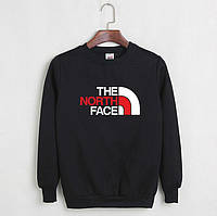 Свитшот молодежный с принтом The North Face Кофта черная (РЕПЛИКА)
