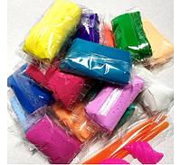 Тесто для лепки Детский пластилин Super Light Clay Niboshi 5D 14 цветов