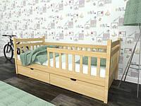 Кровать Буратино из массива бука