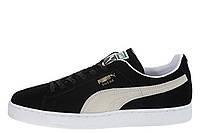 Мужские кроссовки Puma Suede Classic Mono Iced Black White