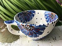 Чашка керамическая 100% ручная работа 0,5 л (52)