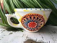 Чашка керамическая 100% ручная работа 0,5 л (54)