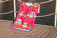 Пляжное полотенце LOTUS OWLS , фото 1