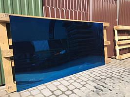 Лист нержавіючої сталі синій булат 0,4мм