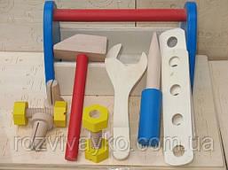 Деревянный набор инструментов