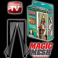 Москитная штора сетка на дверь на магнитах Magic Mesh