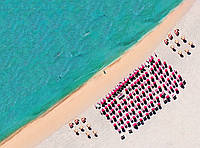 Фотообои флизелиновые на стену 248х184 см 2 листа: Южный пляж. Komar XXL2-047